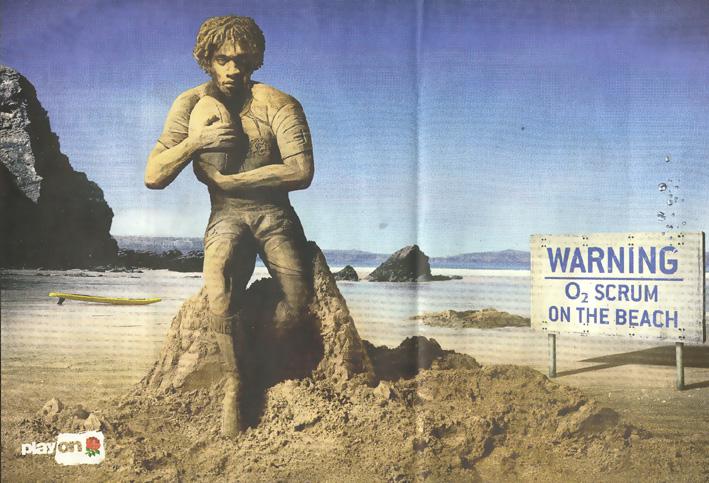 Beach scrum