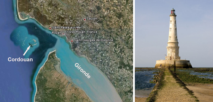 Cordouan google location
