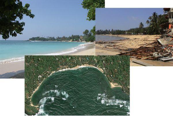Unawatuna beach comp