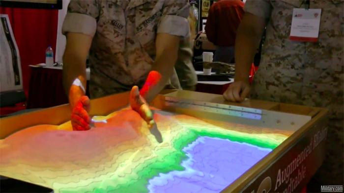 Sand table 2