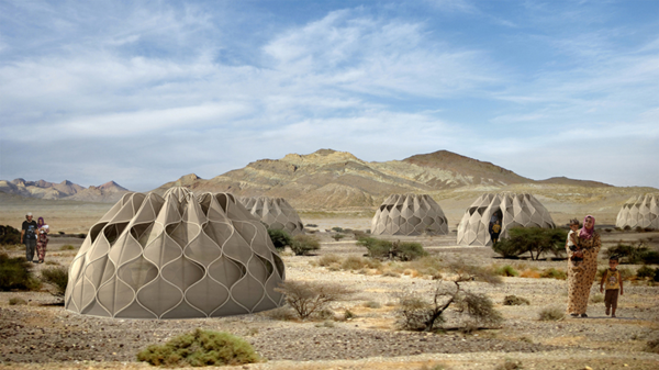 Honeycomb shelters 1
