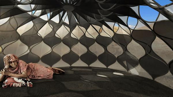 Honeycomb shelters 2